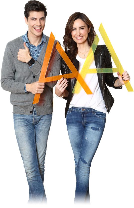 Modelos; Mónica de Tomás y Javier de Miguel